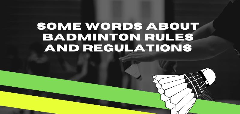some words about badminton