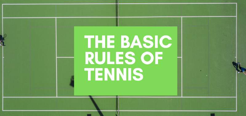 basic rules of tennis