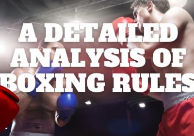A detailed analysis of boxing rules